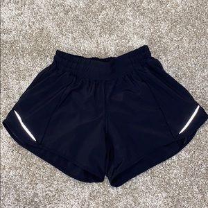 Lululemon Black Hotty Hot Shorts